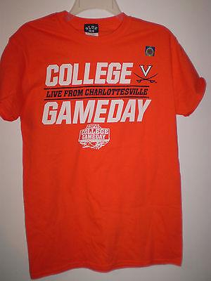 Uva Virginia Cavailers Basketball T Shirt  S  Small Espn College Gameday 2015