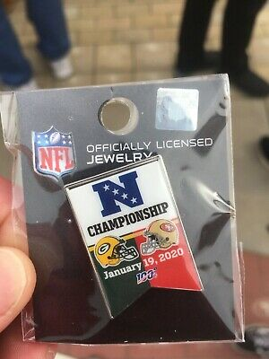 San Francisco 49ers vs Green Bay Packers NFC Championship game pin (Green Bay Packers Vs San Francisco 49ers)