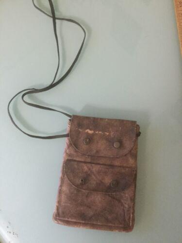 VINTAGE HIPPIE LEATHER SHOULDER Hand BAG Pouch PURSE (#2)