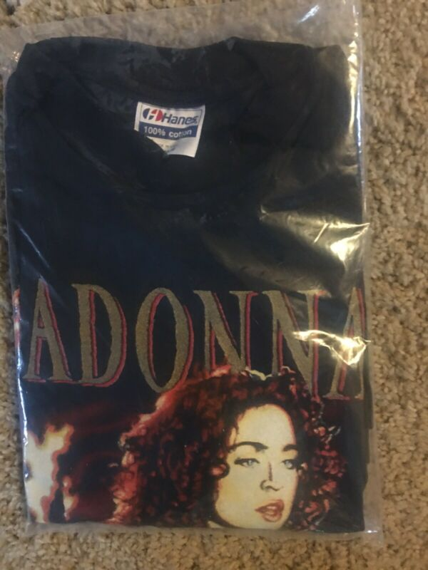 Rare New W/tags 1989 Madonna Like A Prayer T-Shirt vintage Size XL See Photos