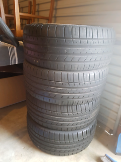 USED FORD TYRES IN EXCELLENT CONDITION