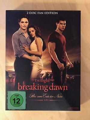 TWILIGHT – Biss zum Ende der Nacht Teil 1 Breaking Dawn 2-Disc Fan Edition (Twilight Biss Zum Ende Der Nacht Teil 2)