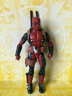 Marvel Legends Hasbro Juggernaut BAF Series Deadpool Action Figure (D)