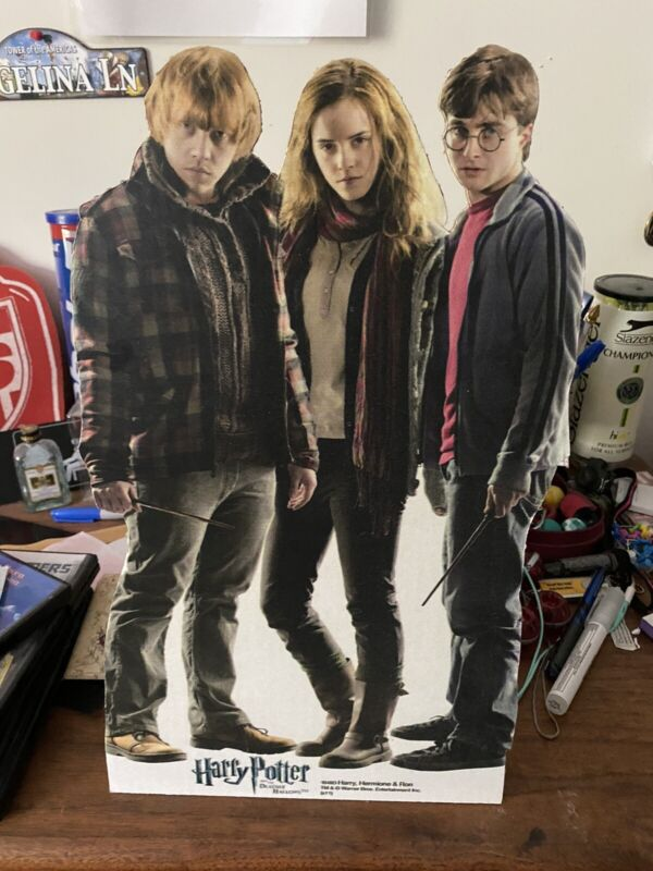 Harry Potter Stand Up Standup Poster Hermione Ron Desk Party Decoration