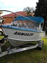 1991 14.7ft Aluminium 40hp Boat w/ heaps of extras Kirrawee Sutherland Area Preview