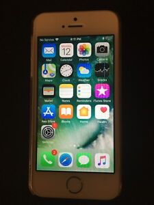 iPhone 5s 16gb - Silver/White