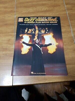 Hal Leonard The Best of Ozzy Osbourne Easy Guitar Tab
