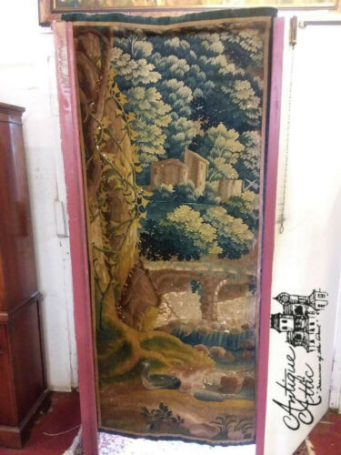 18th Century Aubusson Tapestry Wall Hanging 1700