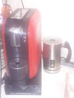 Red Expressi coffee machine