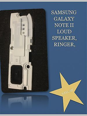 Samsung Galaxy Note 2 II i317 i605 L900 T889 N7100 Loud Speaker White for sale  Shipping to India