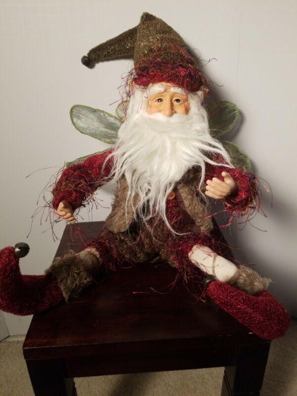 """Christmas Santa Fairy Elf 20 """" New"""