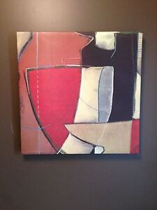 """Abstract Painting  23.5x23.5"""""""