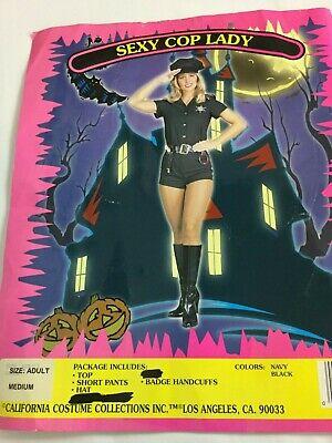 G Halloween Costumes (Sexy Cop Lady Halloween Costume Size Adult Medium)