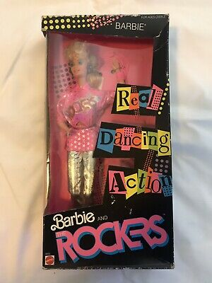 VINTAGE 1986 BARBIE AND THE ROCKERS / BARBIE DOLL / NEW NRFB