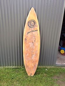 Old Sam Egan surfboard Mayfield East Newcastle Area Preview