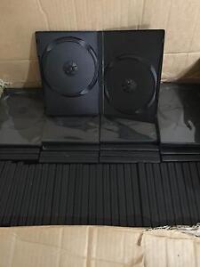 DVD Case - Double - Black - 104 units Hillside Melton Area Preview