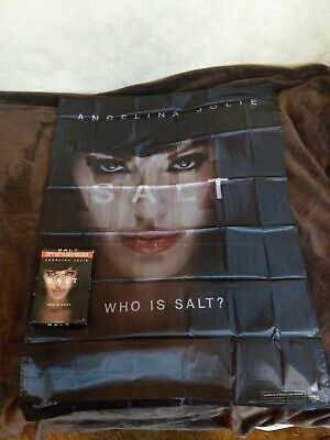 Angelina Jolie Salt - Walmart Exclusive Collectible Fabric Banner