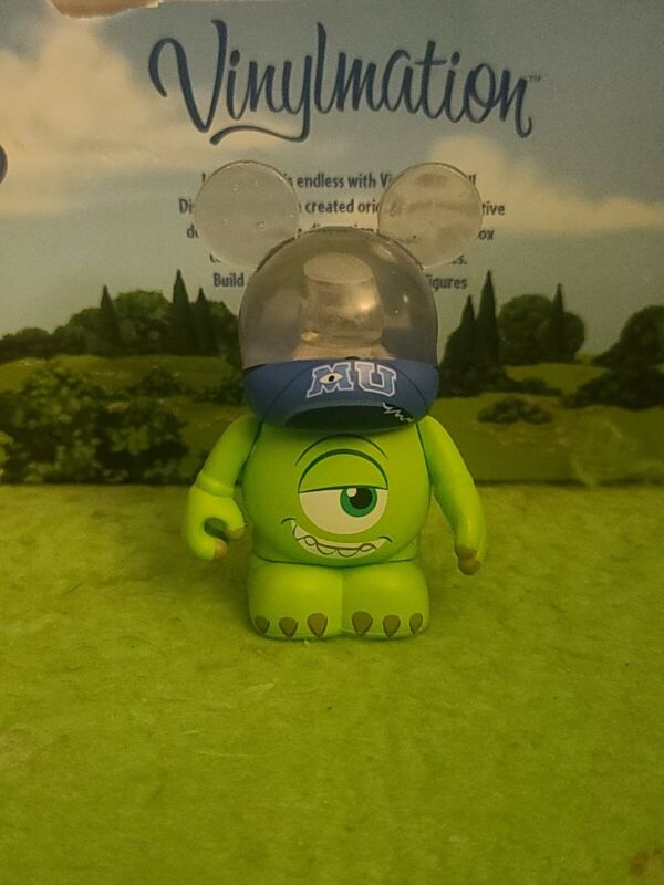 "DISNEY Vinylmation 3"" Park Set 1 Monsters University Mike Wazowski"