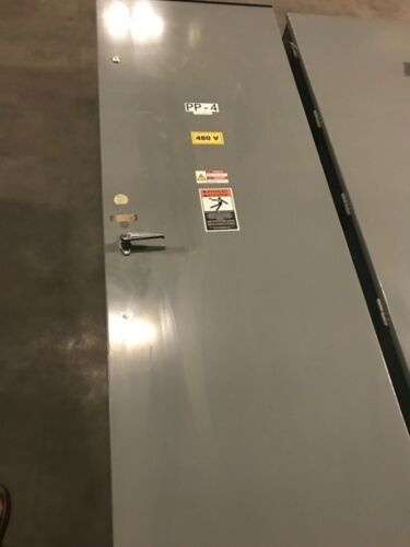 SQUARE D DISTRIBUTION PANEL HCN I-LINE 225 AMP 480V 3PH (18) 20 AMP BREAKERS