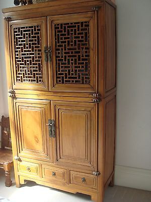Authentic Antique Chinese Wooden Cabinet
