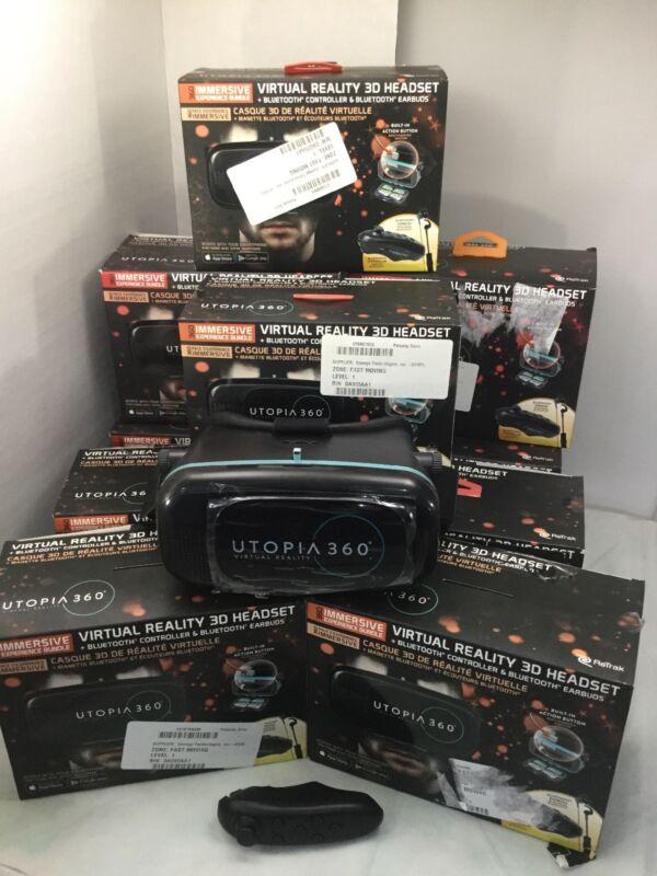 LOT OF 10 ReTrak Utopia 360 VR Immersive Experience Bundle MINT CONDITION