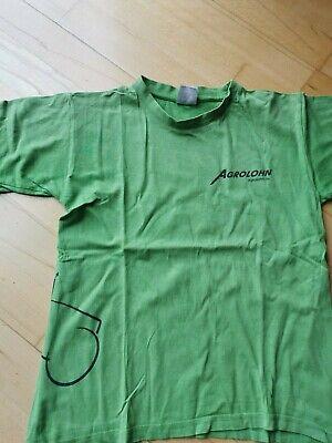 Agrolohn T-shirt, Traktor, Bauernhof, Gr. 134-146, grün gebraucht kaufen  Neukirchen