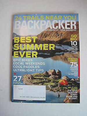 Backpacker August 2014 - Best Summer Ever, Epic Hikes, Local (Best Weekend Hiking Backpack)