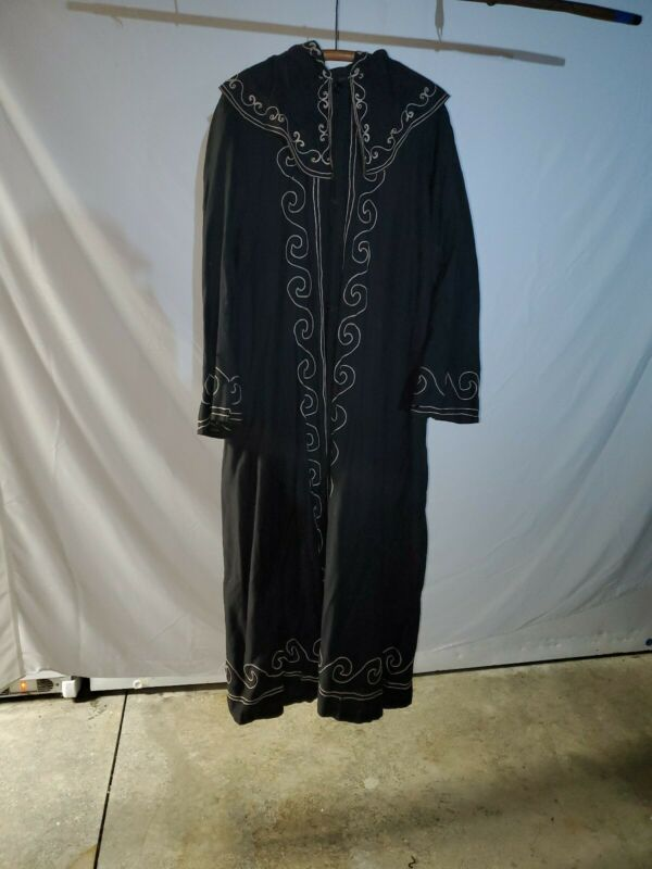 Antique Odd Fellows Scene Death Robe