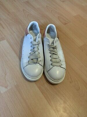 Alexander McQueen White & Black Size UK 7.5