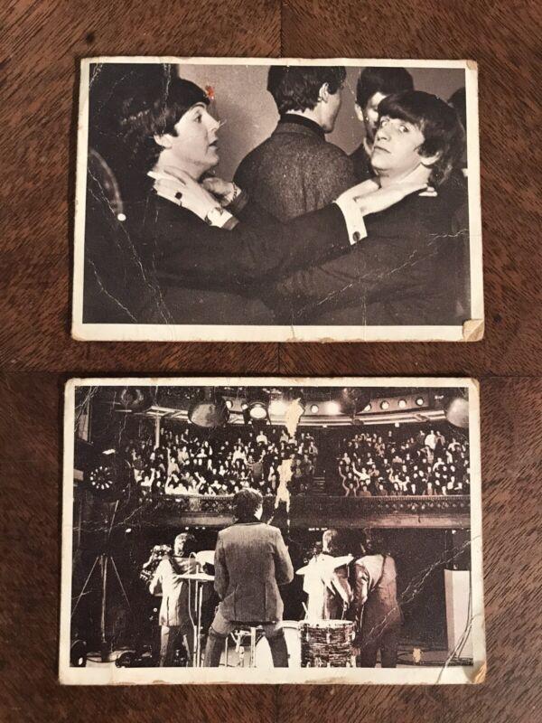 Vintage Beatles Band Movie Trading Cards Lot TCG Hard Days Night