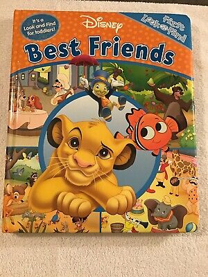 Disney LOOK AND FIND Little First Board Book Best Friends, Fun (Best Fun First Cars)