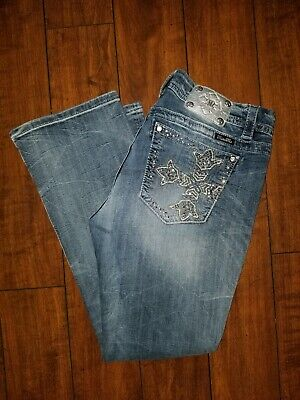 Miss Me Jeans Mid Rise Easy Boot Size 34 Mid-rise Boot