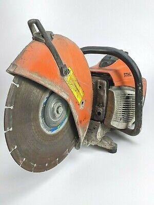 Stihl Ts500i Gas Concrete Cut-off Saw W Blade Chop Gas Axe Demo