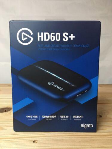 Elgato HD60 S+ Plus Game Capture Card 4K Streaming 1080p60 4