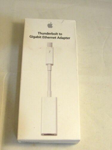 GENUINE Original Apple Thunderbolt to Gigabit Ethernet Adapter A1433 MD463LL/A