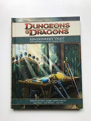 Dungeons & Dragons (Adventure's Vault)  RPG Team (Hardback, 2008)