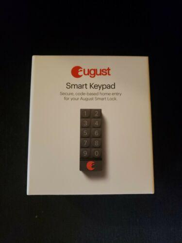 August - Smart Keypad - Dark Gray - BRAND NEW SEALED