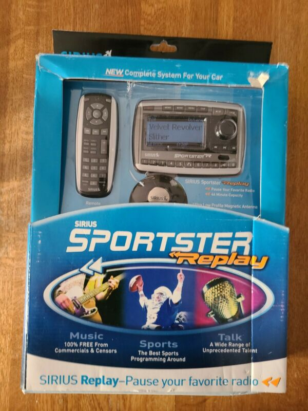 Sirius sportster replay new in box
