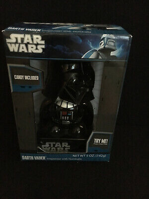 Star Wars Darth Vader Mini Gumball Machine Candy Dispenser Toy Lights and Sounds - Star Wars Gumball Machine