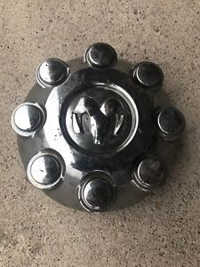 03-CURRENT DODGE TRUCK RAM 2500 3500 8 lug center hub cap USED