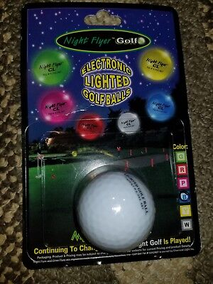 - Pick a color! Night Flyer Light Up Golf Ball | Electronic Lighted Glow Ball