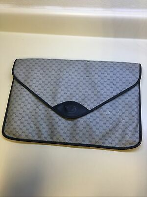 Vintage GUCCI Canvas GG Monogram Cosmetics Bag