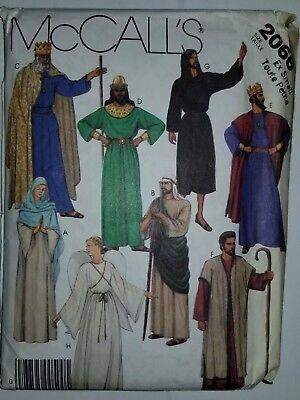 Kostüm Krippe Bibel Schule XS Erwachsene Nähen Muster 2066 Mccalls UC Ff - Bibel Kostüm Muster