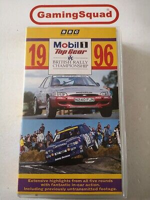 British Rally Championship 1996 VHS Video PAL, Supplied by Gaming Squad