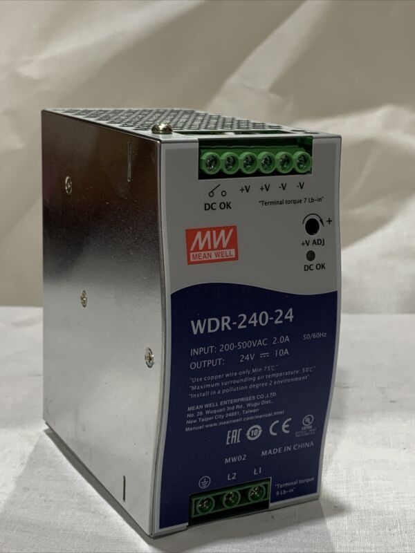 MEAN WELL WDR-240-24