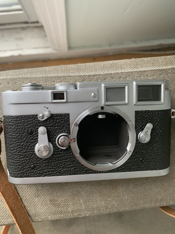 Leica M3 SS Outfit (recently Cla'ed) With 3 lenses
