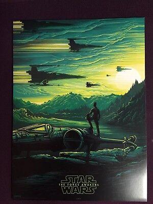 Star Wars The Force Awakens Original cinema exclusive poster, number 2 IMAX