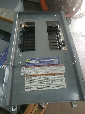 Square D Nf418l1 Nf Panelboard Interior 600y347v 100a 3 Phase 18 Circuit Pole