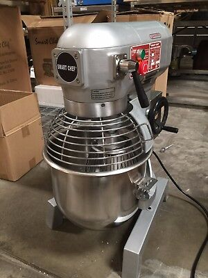20qt Commercial Bakery Dough Food Mixer Gear Driven Three Speed Wetlnsflisted