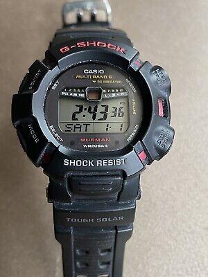 Casio G-Shock Mudman Series 3150 GW-9010 Multi Band 6 Tough Solar Watch